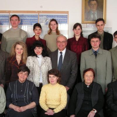 Сотрудники кафедры ТГВ_Февраль 2005 г.4 02 05 001.