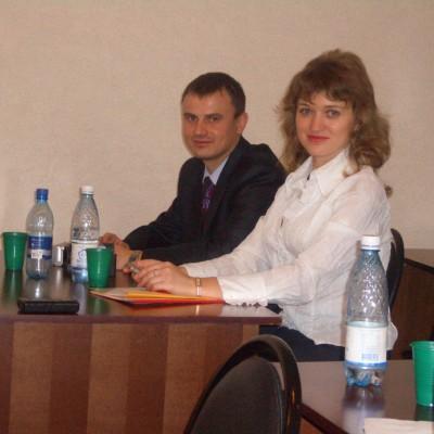 М.М. Замалеев и А.В. Марченко перед защитой кандидатских диссертаций в ИГЭУ_17.10.2008