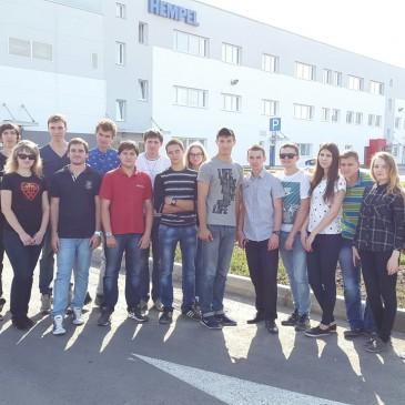 Экскурсия на завод HEMPEl