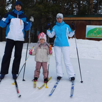 Марат, Зарина и Татьяна Феткулловы