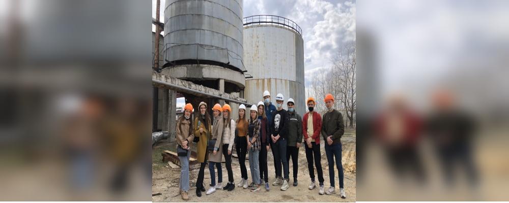 Экскурсии студентов базовой кафедры на предприятия филиала «Ульяновский» ПАО «Т Плюс»